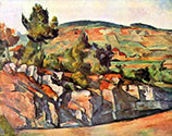 the impressionists, paul cezanne art, French Provence