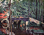 the impressionists, paul cezanne art, Le Petit Pont