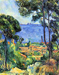 the impressionists, paul cezanne art, Le Staque