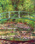 Japanese Bridge over the Lily Pond, impressionism, impressionists