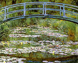 the japanese bridge painting by claude monet