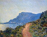 A Coastal View with Bay, impressionism, impressionists