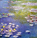 impressionism, impressionists Water Lily (Nympheas) at Giverny