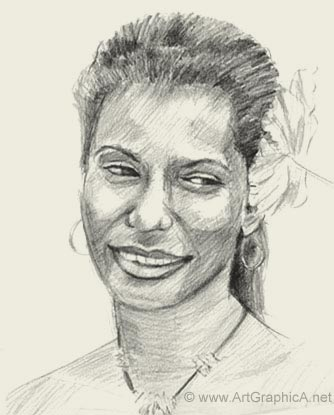 learn to sketch faces