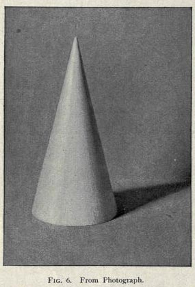 shading a cone, how to draw cones, modelling a cone, art book online