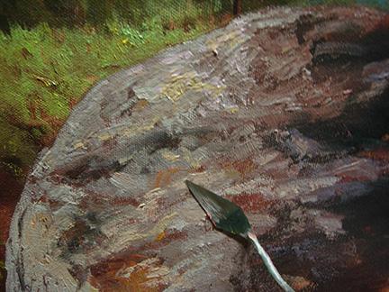 Sierra Mountains Oil Painting Tutorial