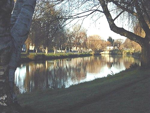 new zealand, avon river, christchurch
