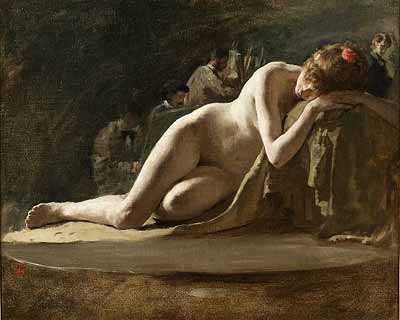 solomon j solomon, practice of oil painting