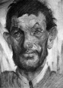 painterly portrait