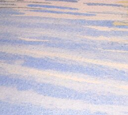 blotting paper, watercolor waves, ripples