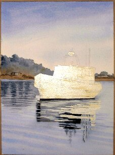 soft edges, how to paint a boat