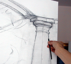 drawing a column