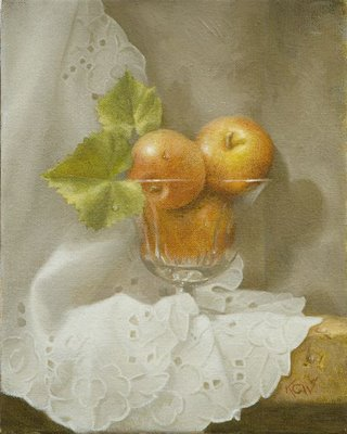 fruit and waterdrops
