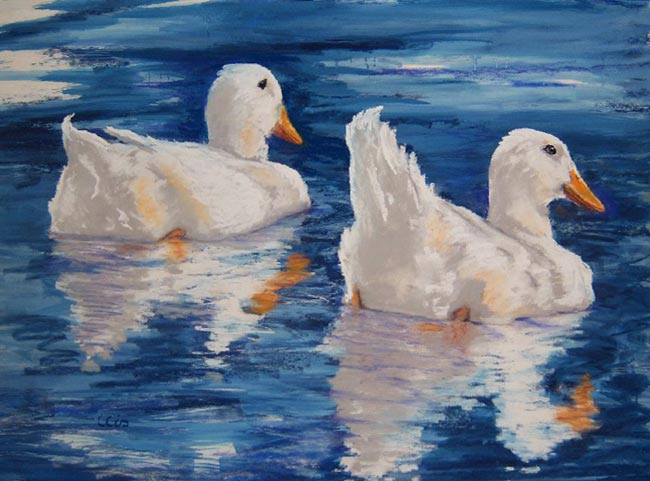 how to paint ducks