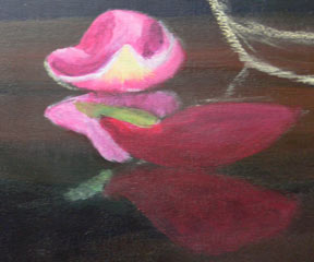 lição pintura acrílica