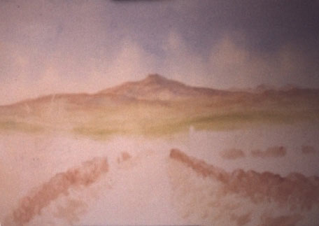 staring a watercolour landscape