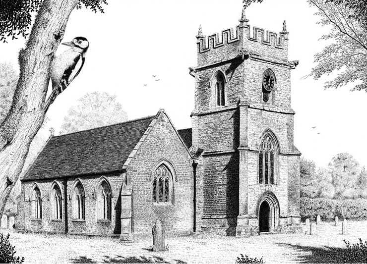 st peter's church, chetnole dorset
