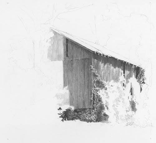 Barn Art Free Pencil Demo
