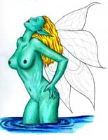 drawing fairy in the nude, fantasy art tutorial