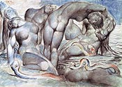 The Punishment of the Thieves by William Blake