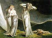 Lamech and his Two Wives by William Blake