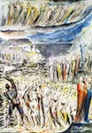 Souls in the forecourt of the Hell by William Blake